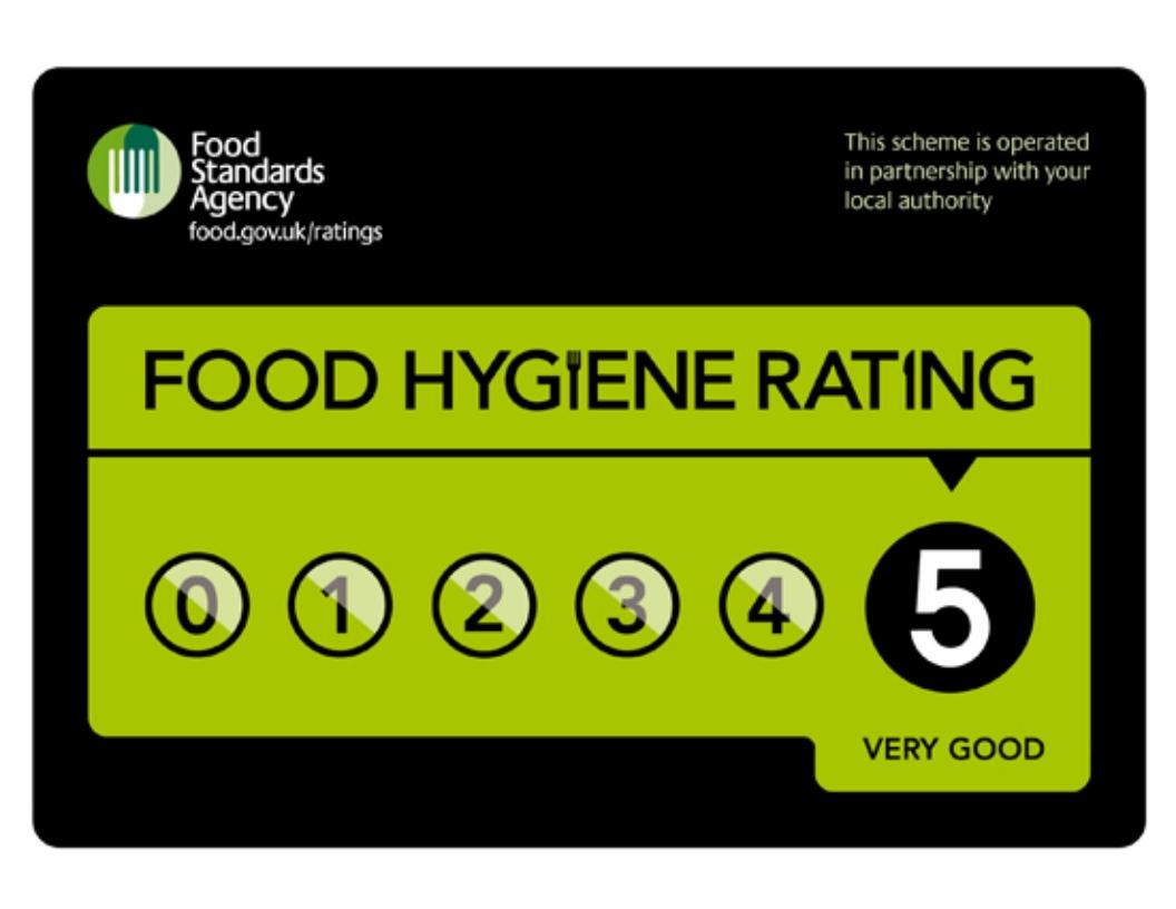 Image result for 5 star rating food